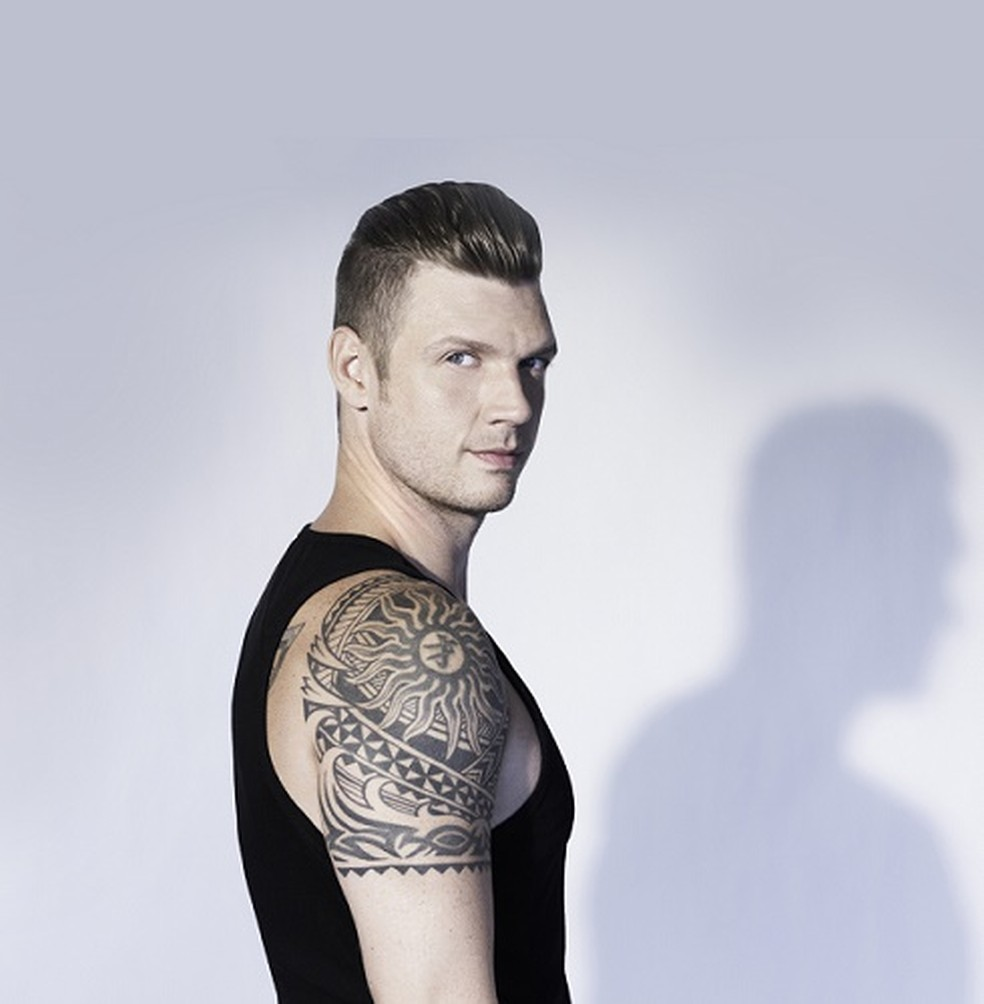 O cantor Nick Carter, do Backstreet Boys (Foto: Divulgação/Tropi Press)