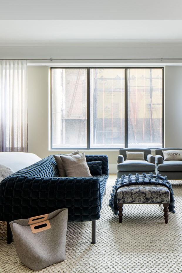 Décor do dia: quarto com tons naturais e texturas (Foto: Divulgação)