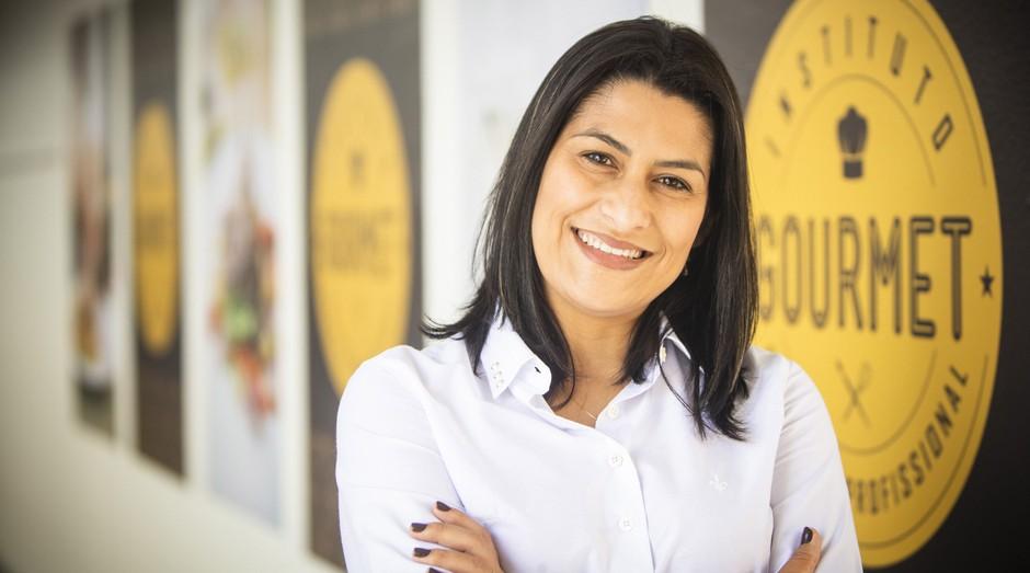 Lucilaine abandonou sua carreira como professora estadual e criou um empreendimento milionário (Foto: Fábio Seixo )
