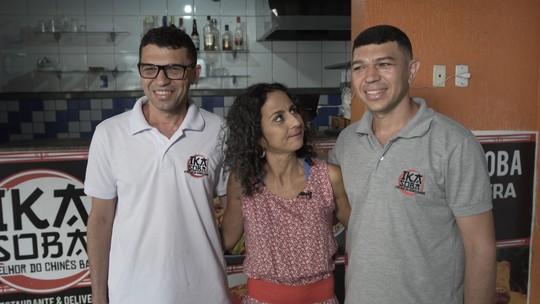Maria Menezes conhece o lado comercial do bairro de Pernambués