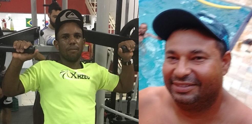 Valdemir Oracio Cruz e Carlos Alexandre Ferreira da Costa foram pescar em Rio Tietê em Sales (SP); corpos foram encontrados pelos bombeiros (Foto: Reprodução/ TV TEM)