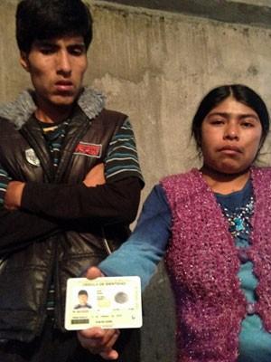 Pais do menino Brayan, assassinado na Zona Leste de SP (Foto: Kleber Tomaz/G1)