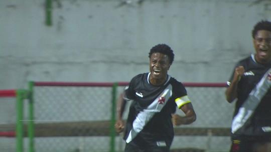 Os gols de Coritiba 0 x 3 Vasco pela Copa SP de futebol júnior