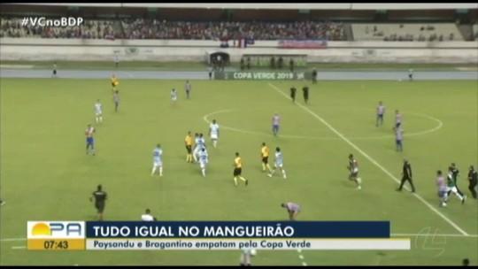 Reclamação de pênalti, expulsões, confusão: veja os lances de Paysandu 1 x 1 Bragantino