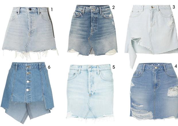 Saia Jeans (Foto: Reprodução )