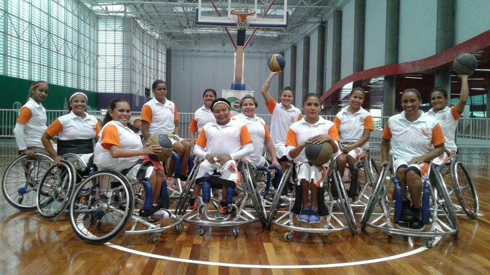 b29eb6be3 ... All Star Rodas é vice-campeão brasileiro de basquete em cadeira de rodas  — Foto