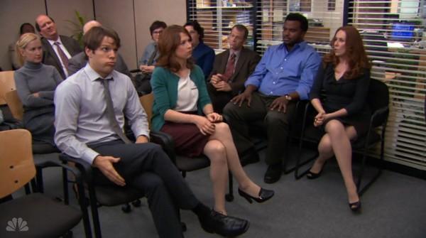 Cena da série The Office (Foto: Reprodução)