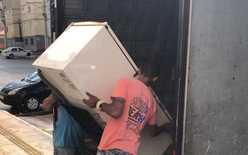 Reintegração ocorre nesta quinta-feira (1º).  — Foto: Vanderson Nascimento / TV Bahia