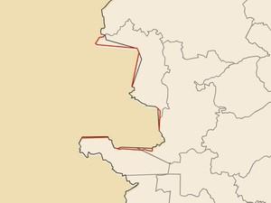 Em Água Doce do Norte, o Espírito Santo também ganha território (Foto: Reprodução/TV Gazeta)