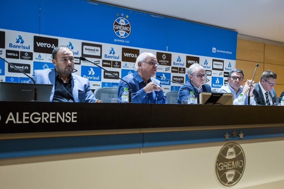 Grêmio tem mais um ano com resultado financeiro positivo — Foto: Lucas Uebel / Grêmio FBPA