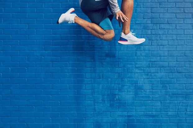 O Nike React na versão branca (Foto: Divulgação)