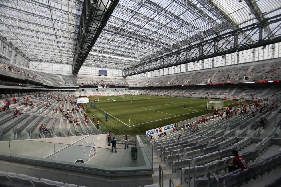 6d753426db9ef ... Atlético-PR recebe o Corinthians na Arena da Baixada nesta quarta-feira  — Foto