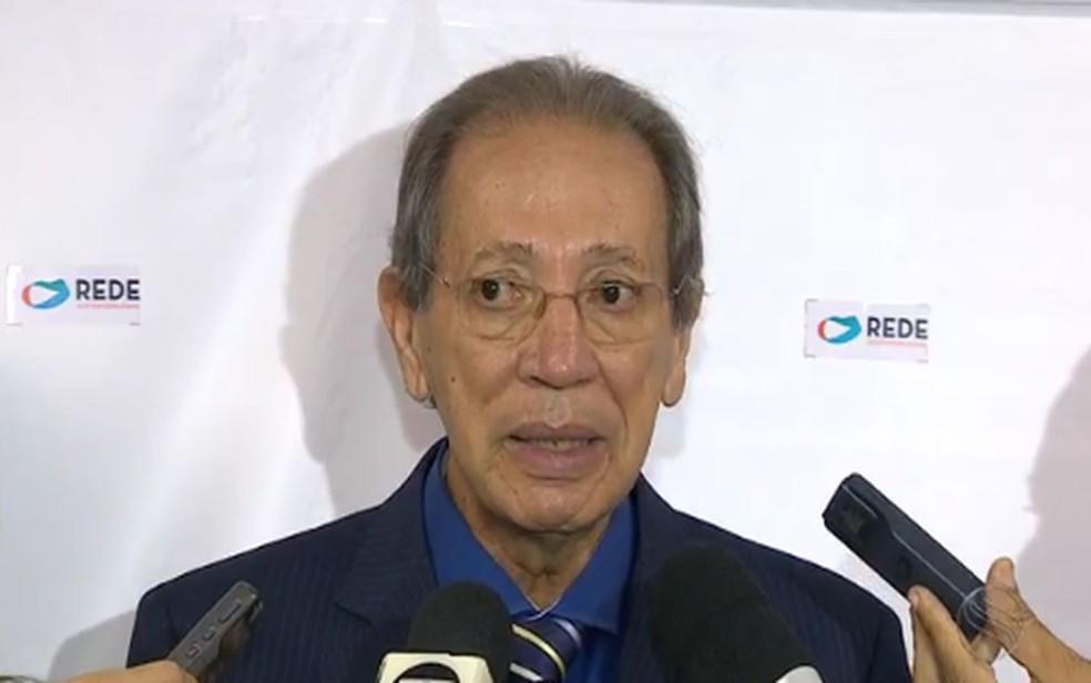 Dr. Emerson é o candidato da Rede (Foto: Reprodução/TV Sergipe)
