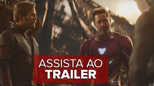 'Vingadores: Guerra infinita' tem novo trailer divulgado; veja