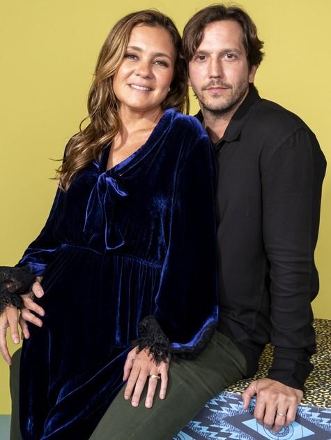 Adriana Esteves e Vladimir Brichta (Foto: João Cotta)