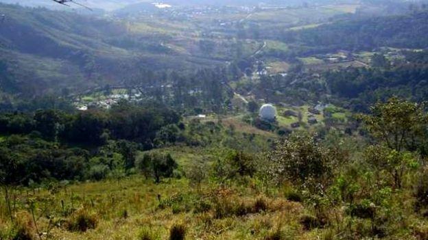 Prefeitura pode implantar regras ainda mais rígidas para a ocupação de solo na região do observatório em Atibaia (Foto: REPRODUÇÃO/BBC)