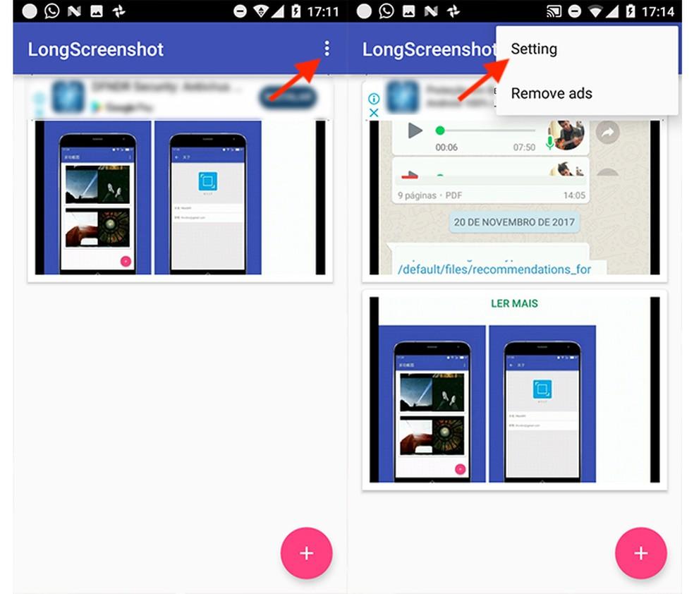 Como fazer print de conversas inteiras no WhatsApp