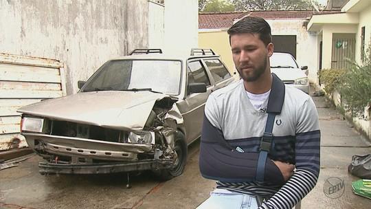 'Valeu a pena', diz homem que se pendurou em carro e foi atropelado para evitar furto