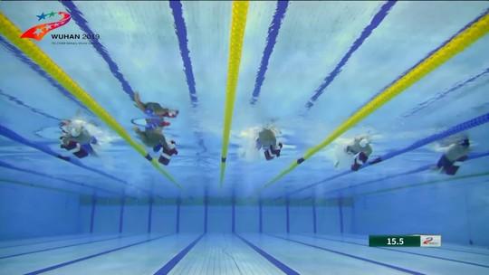 Salvamento Aquático: conheça o esporte dos Jogos Militares que deu quatro medalhas para o Brasil