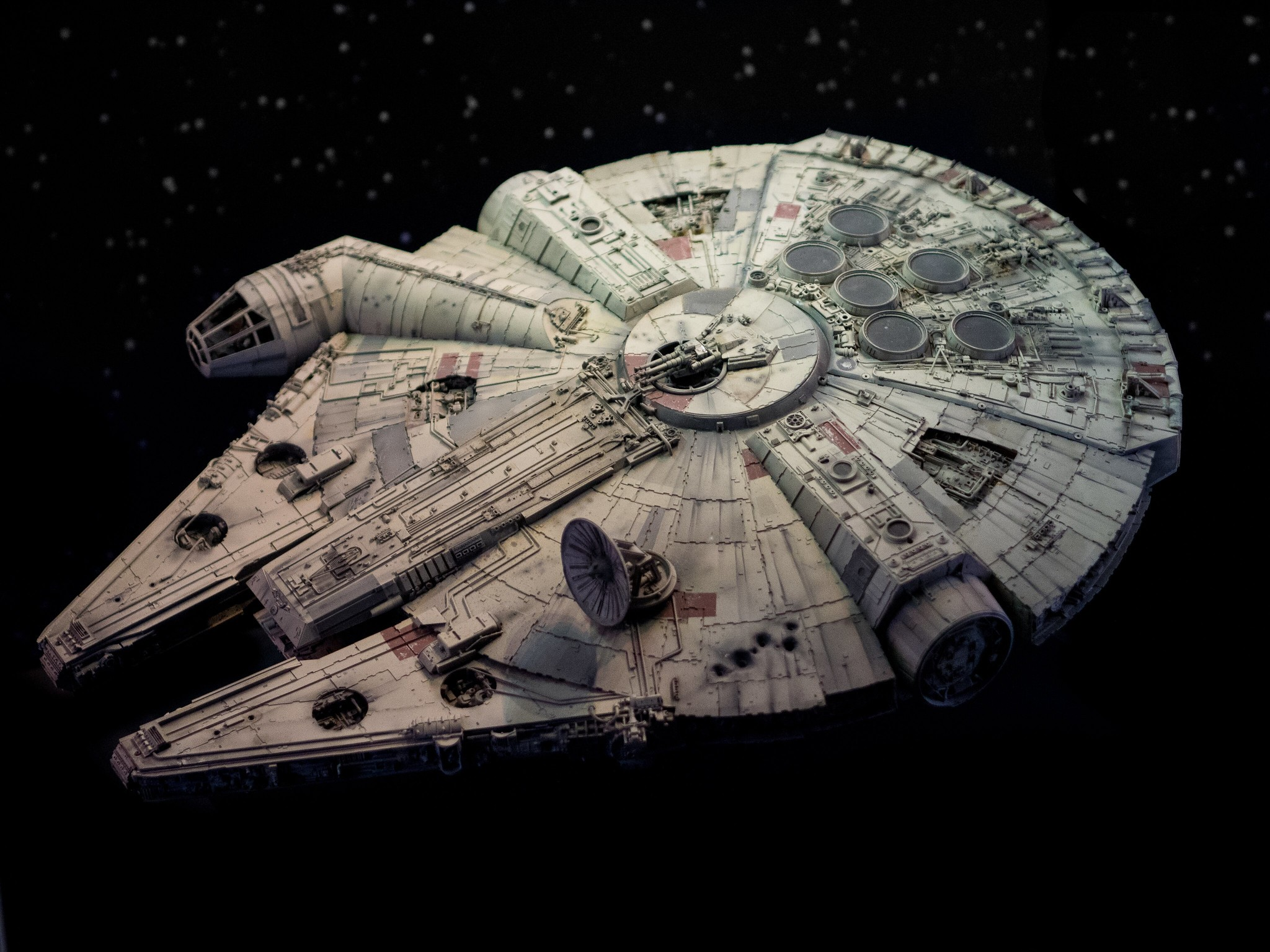 Millennium Falcon, a nave de Star Wars (Foto: Flickr/William Warby/Creative Commons)