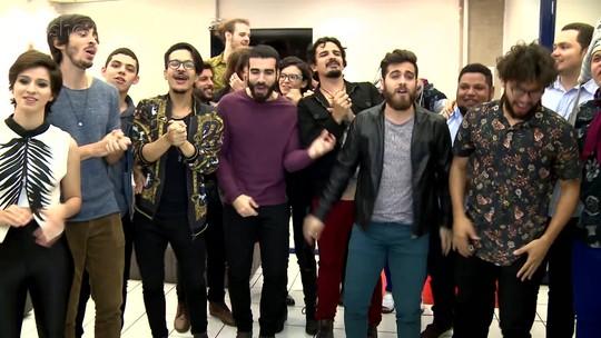 Finalistas do 'SuperStar' cantam sucessos dos jurados do reality