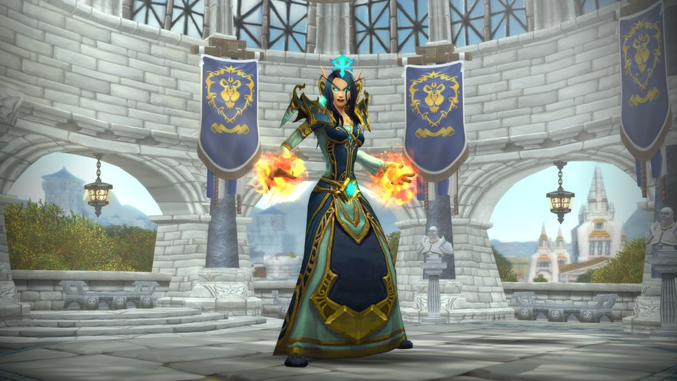 World of Wacraft's character creation mode will now have many more options with the Shadowlands expansion. (Image: Blizzard)
