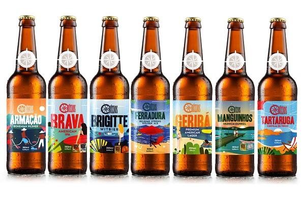 Os novos rótulos da Búzios serão lançados no Mondial de la Bière