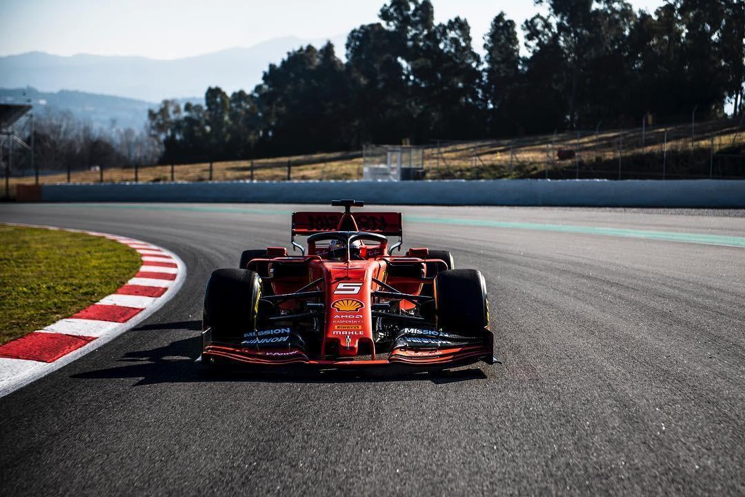 Ferrari SF50 (Foto: Reprodução: Instagram)