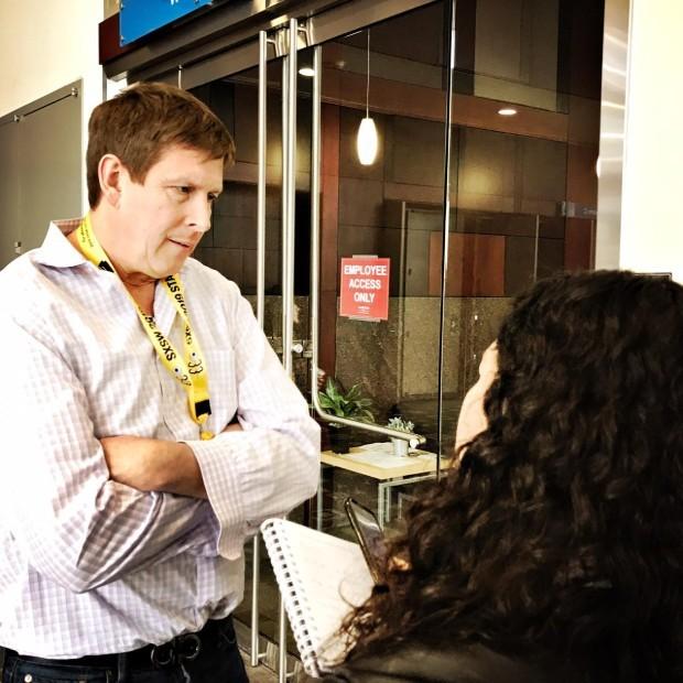 Hugh Forrest, diretor de programação do SXSW (Foto: Rodrigo Buldrini)