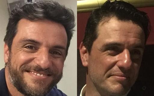 Rodrigo Lombardi se despede de Caio e raspa a barba; compare - Quem   QUEM News