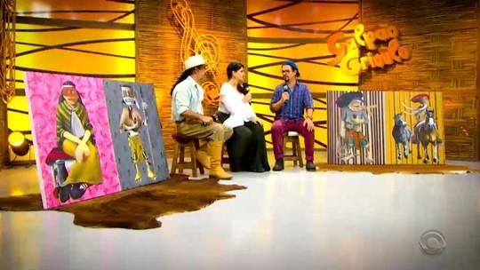 'Galpão Crioulo' recebe Chiquito e Bordoneio, o Quinteto Persch e o artista Felipe Constant
