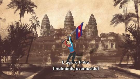 Após anos de guerra, Menina de Ouro põe o Camboja no mapa do mundo esportivo