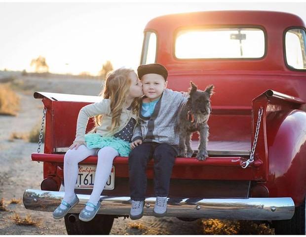 Os filhos de Whitney e Hubby (Foto: Reprodução Facebook)