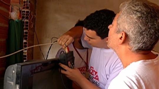 Caminhão da TV Globo percorre Alto Tietê para informar sobre sinal digital