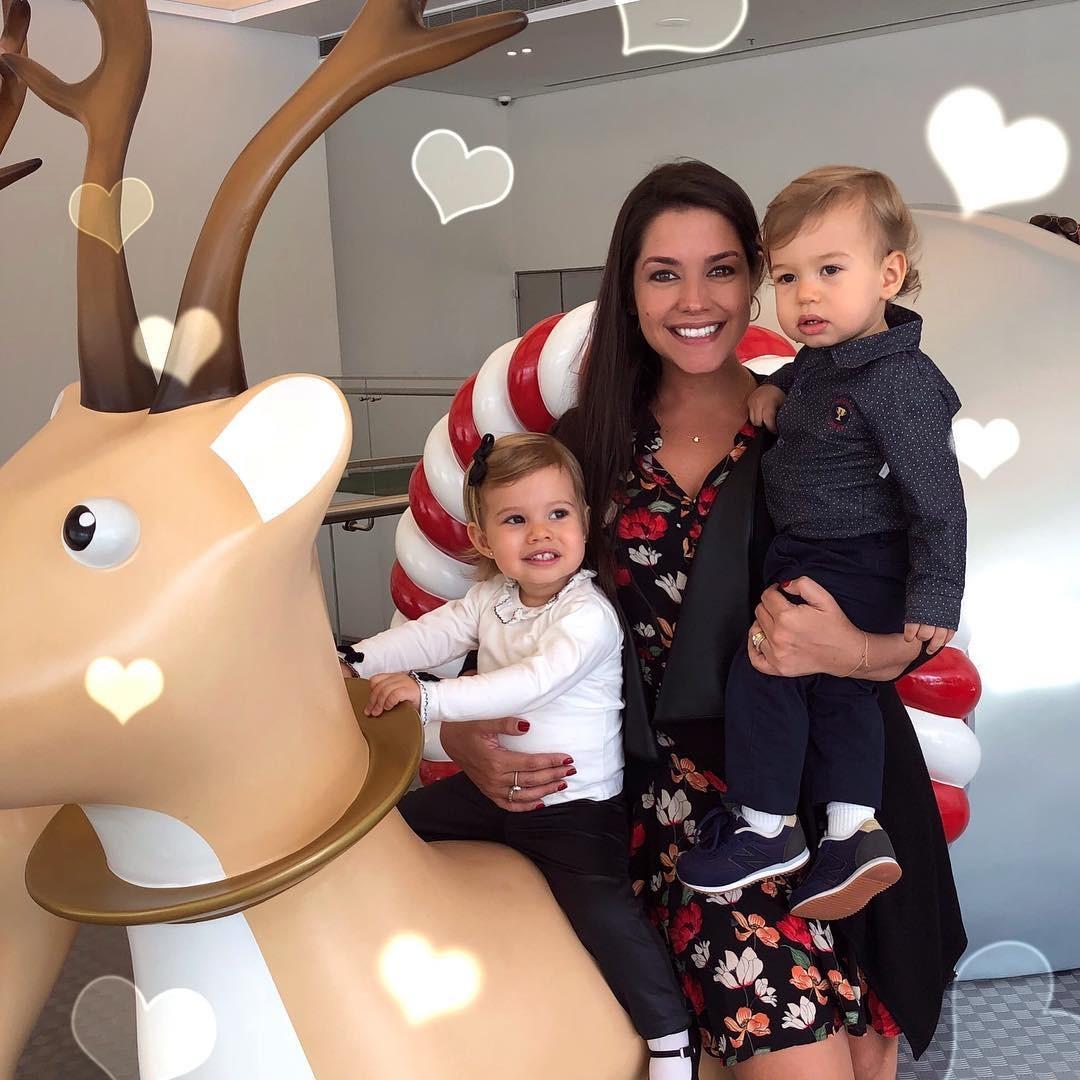 Thais Fersoza com Teodoro e Melinda (Foto: Reprodução/Instagram)
