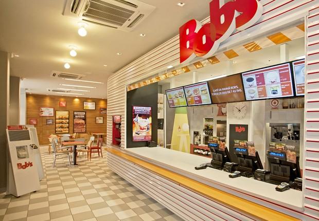 Loja do Bob's com novo layout e conceito (Foto: Divulgação)