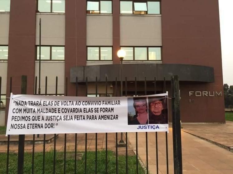 Réus são condenados a 40 e 50 anos por morte de duas idosas em 2016 em Lagoa Vermelha - Notícias - Plantão Diário