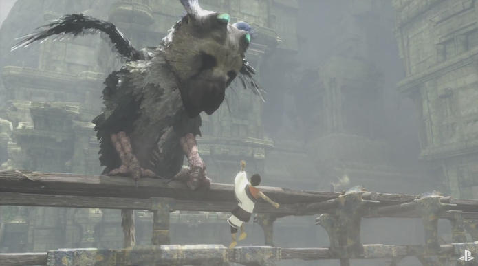 The Last Guardian (Foto: Reprodu??o/YouTube)
