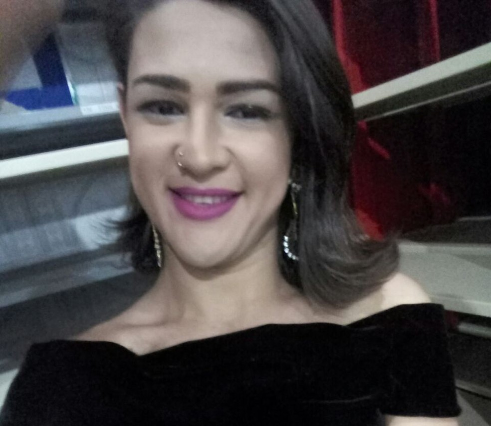 Anderson Silva como Agatha Lorrana  (Foto: Divulgação/Arquivo Pessoal)