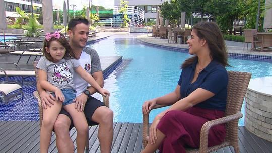 Pipico fala sobre lado torcedor em jogo decisivo do Santa Cruz e recuperação