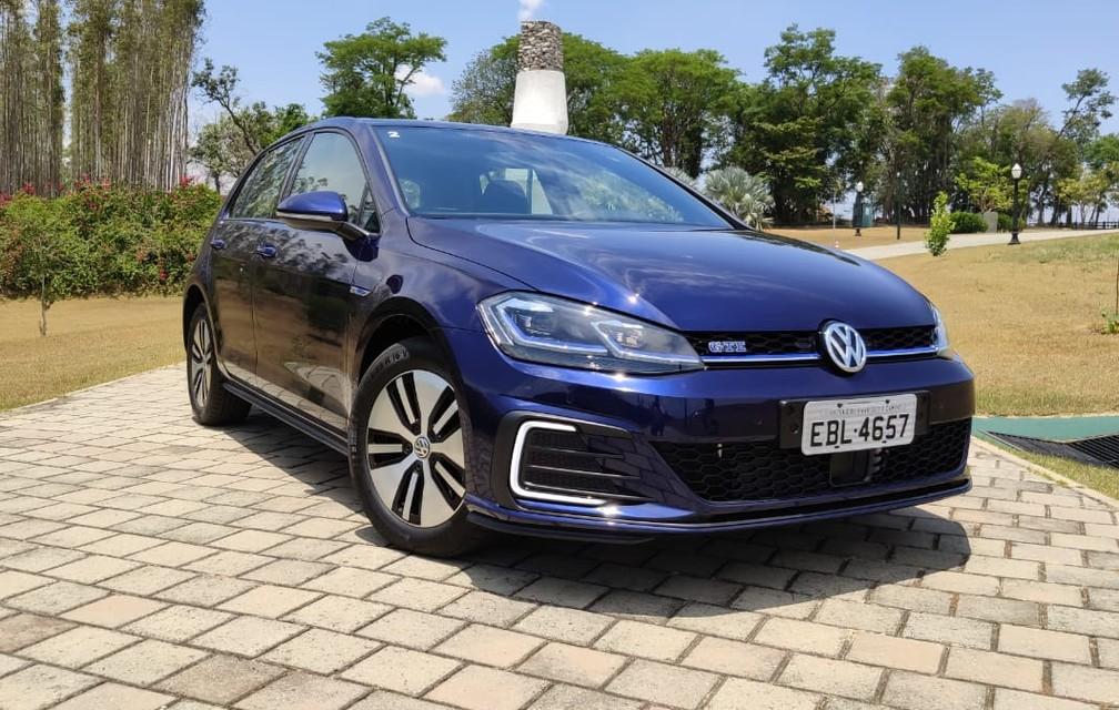 Volkswagen Golf GTE chega ao mercado brasileiro — Foto: André Paixão/G1