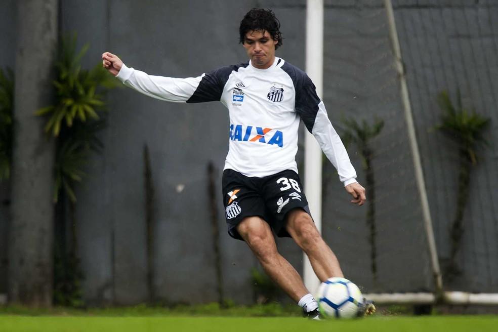 Dodô pertence está emprestado pela Sampdoria-ITA ao Santos até 31 de dezembro — Foto: Ivan Storti/Santos FC