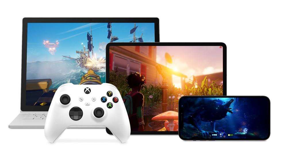 Xbox Game Pass Ultimate vai permitir assinantes a jogar games em consoles, PCs, celulares e tablets — Foto: Divulgação/Microsoft