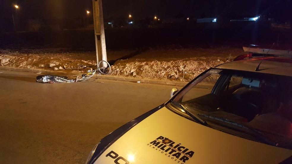 -  Homem morre e 4 ficam feridos após serem baleados em Sorriso  MT   Foto: Lucas Torres/Portal Sorriso