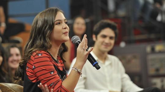 Mel Maia planeja festa de 15 anos em 2019 com direito a valsa: 'Com meu namorado e com meu pai'