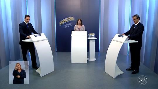 Candidatos à Prefeitura de Sorocaba debatem propostas na TV TEM