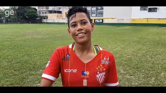 Reforço do futebol baiano, Cibele chega ao Vila Nova-ES e faz seu primeiro gol em jogos oficiais