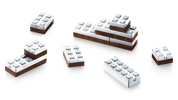 Lego de prata é vendido como artigo de luxo pela Tiffany & Co (Foto: Divulgação)