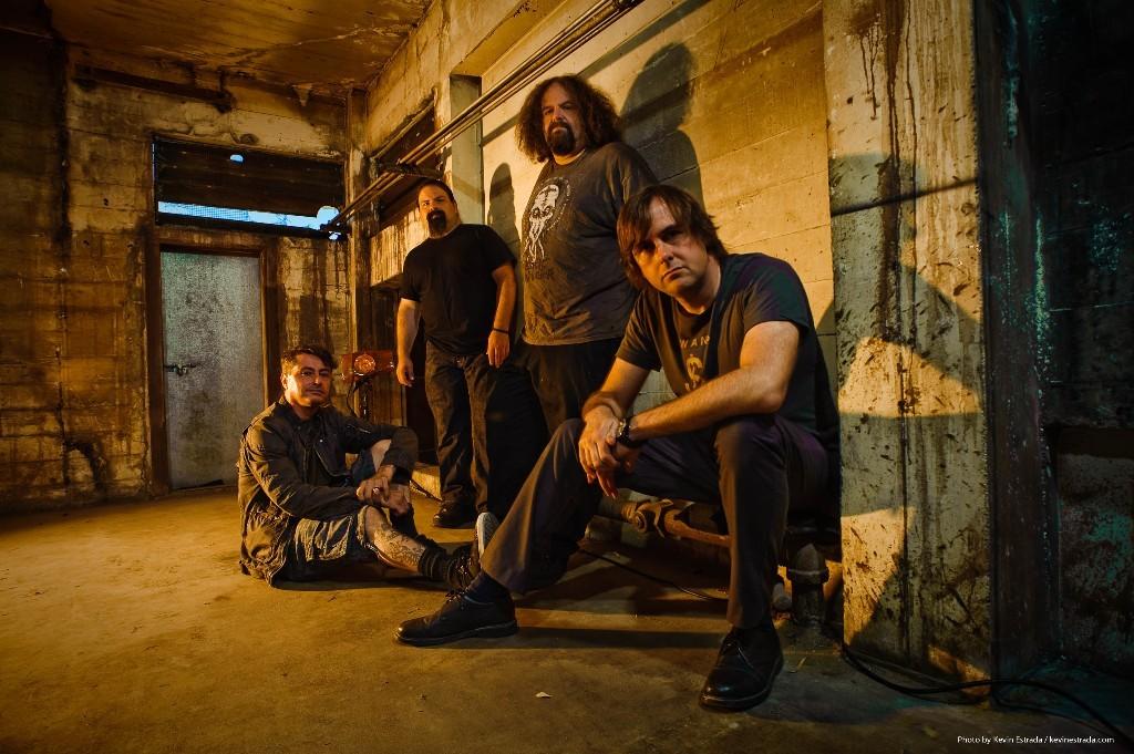 A banda inglesa Napalm Death