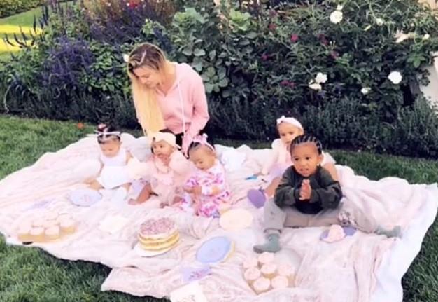 smashe de cake dos kardashian (Foto: Reprodução / Instagram)